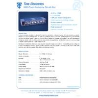Time Electronics Resistance Box - Power 10W (0.1 Ohm - 120 k Ohm)