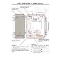 Chauvin Arnoux PEL105 All-Terrain Power & Energy Logger - Quick Start Guide