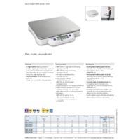 Kern ECE-N Plastic Bench Scales - Datasheet