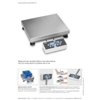 Kern EOC Dual-Range Industrial Platform Scales - Datasheet