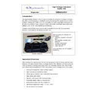 Metrohm HVI-F0357A High Voltage Indicator Kit
