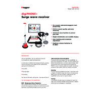 Megger DigiPHONE+ Surge Wave Receiver - Datasheet