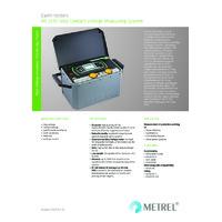Metrel MI3295 Step Contact Voltage Measuring System - Datasheet