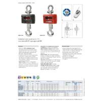 Kern HFO Industrial Crane Scales - Datasheet