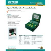 Extech 412400 Multifunction Process Calibrator - Datasheet