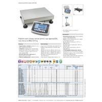 Kern IFB Industrial Single-Range Platform Scales -Datasheet
