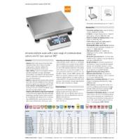 Kern IOC Industrial Platform Scales - Datasheet