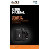 CorDEX TOUGHPIX DIGITHERM Digital & Thermal Imaging Camera - User Manual