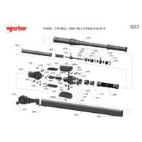Norbar 14002 Technical Drawing Datasheet