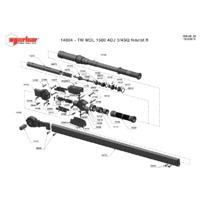 Norbar 14004 Technical Drawing Datasheet