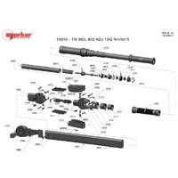 Norbar 14016 Technical Drawing Datasheet