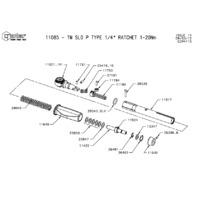 Norbar 11085 Technical Drawing Datasheet