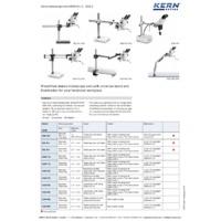 Kern Stereo Microscope Sets - Datasheet