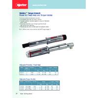 Norbar Slimline Torque Wrenches - Datasheets