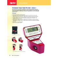 Norbar Pro-Test Series 2 Professional Torque Testers - Datasheet