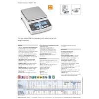 Kern PNJ & PNS Precision Balances - Datasheet