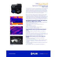 FLIR Duo Pro R Radiometric Thermal & Visible-light Camera for sUAS - Datasheet