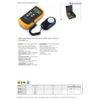 Sauter SO 200K Light Meter - Datasheet