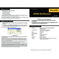 Fluke DMS Software - Quick Reference Guide