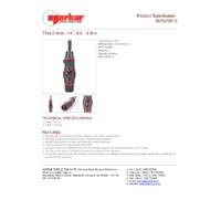Norbar TTs3.0 Adjustable Torque Screwdriver - Product Specifications