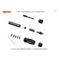 Norbar TTs6.0 Adjustable Torque Screwdriver - Exploded Drawing