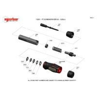 Norbar TTs3.0 Adjustable Torque Screwdriver - Exploded Drawing