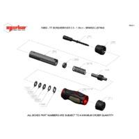 Norbar TTs1.5 Adjustable Torque Screwdriver - Exploded Drawing