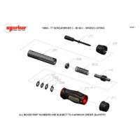 Norbar TTs26 Adjustable Torque Screwdriver - Exploded Drawing