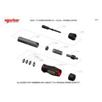 Norbar TTs13 Adjustable Torque Screwdriver - Exploded Drawing