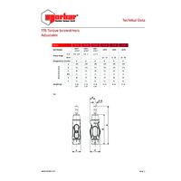 Norbar TTs Torque Screwdrivers - Technical Specifications