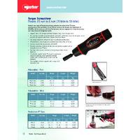 Norbar TTs Torque Screwdriver - Datasheet