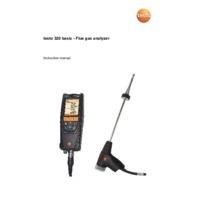 Testo 320B Instruction Manual