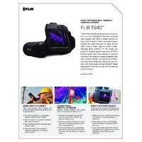 FLIR T840 High-Performance Thermal Camera - Datasheet