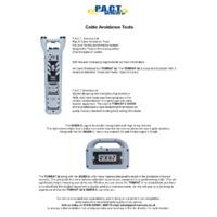 P.A.C.T. SIGEN 2+ Signal Transmitter and S2 TOMKAT - Datasheet