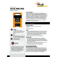 PLS H2 -  Datasheet