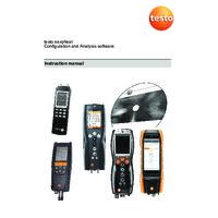 Testo Easyheat Analysis Software - Instruction Manual
