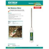 Extech MO750 Soil Moisture Meter - Datasheet