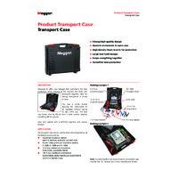 Megger 1009-744 Large Transport Case - Datasheet
