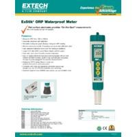 Extech RE300 ExStik ORP Meter - Datasheet