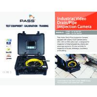 TestSafe Industrial Video Drain Pipe Inspection Camera (20m, 30m, 40m) - Datasheet