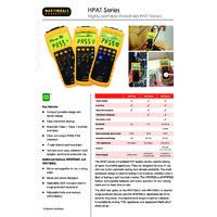 Martindale HPAT PAT Tester Series - Datasheet