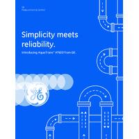 GE Druck AquaTrans™ AT600 Ultrasonic Liquid Flow Meter - Brochure