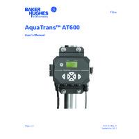 GE Druck AquaTrans™ AT600 Ultrasonic Liquid Flow Meter - User Manual