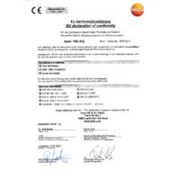 Testo 160 IAQ Indoor Air Quality Wi-Fi Data Logger - EU Declaration of Conformity