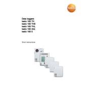 Testo 160 IAQ Indoor Air Quality Wi-Fi Data Logger - Short Instructions