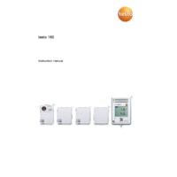 Testo 160 IAQ Indoor Air Quality Wi-Fi Data Logger - Instruction Manual