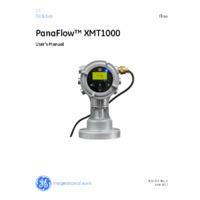 GE Druck PanaFlow XMT1000 Ultrasonic Flow Transmitter - User Manual