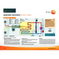 Testo 340 Flue Gas Analyser - Burner or Boiler Application Description