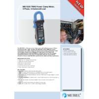 Metrel MD9235 True-RMS Power Clamp Meter – Datasheet