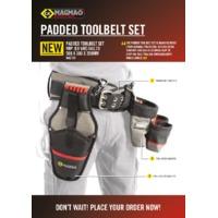 CK Tools MA2738 Magma Padded Tool Belt Set - Datasheet